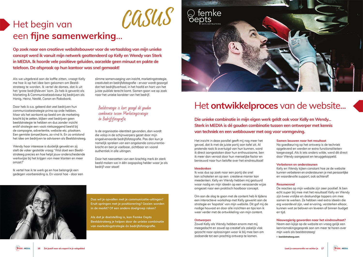 publicatie Sterk in MEDIA Magazine